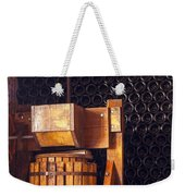 Wine Press Weekender Tote Bag