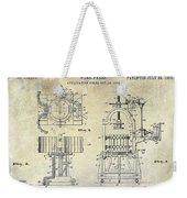 Wine Press Patent 1903 Weekender Tote Bag