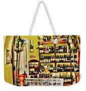Wine Shop Weekender Tote Bag