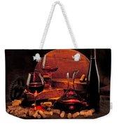 Wine Still Life Weekender Tote Bag