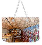 Wine Tasting Room In Castello Di Amorosa In Napa Valley-ca Weekender Tote Bag