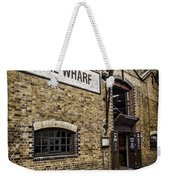 Wine Wharf Weekender Tote Bag by Heather Applegate