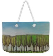 Wineglass Treeline Weekender Tote Bag