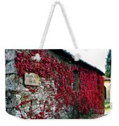 Winery Ivy Weekender Tote Bag