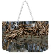 Wing Up Reflection Weekender Tote Bag