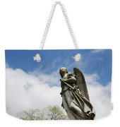 Winged Angel Weekender Tote Bag by Jennifer Ancker