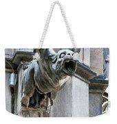 Winged Gargoyle Duomo Di Milano Italia Weekender Tote Bag
