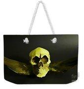 Winged Skull Two Weekender Tote Bag