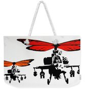 Wingin' It - Orange Weekender Tote Bag