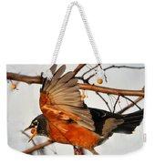 Wings Of A Robin Weekender Tote Bag