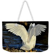Wings Of A White Duck Weekender Tote Bag