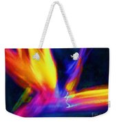 Wings Of Color Abstract  Weekender Tote Bag