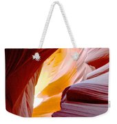Wink In Lower Antelope Canyon In Page-arizona Weekender Tote Bag