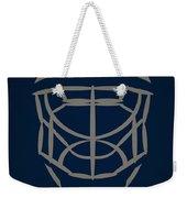 Winnipeg Jets Goalie Mask Weekender Tote Bag
