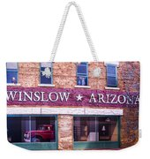 Winslow Arizona 2 Weekender Tote Bag