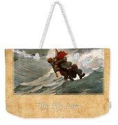 Winslow Homer 3 Weekender Tote Bag
