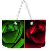 Winsome Roses Pair Weekender Tote Bag