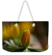 Winter Aconite Weekender Tote Bag