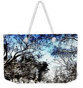 Winter Along The Bronx River Weekender Tote Bag