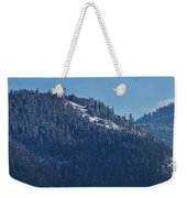 Winter And Mt Baldy Panorama Weekender Tote Bag