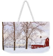 Winter Arrives Weekender Tote Bag