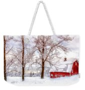 Winter Arrives Watercolor Weekender Tote Bag
