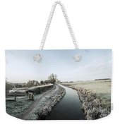 Winter At Ayshford  Weekender Tote Bag