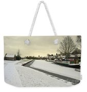 Winter At The Basin  Weekender Tote Bag
