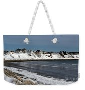 Winter At The Coast Weekender Tote Bag