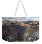 Winter At The Grand Canyon Weekender Tote Bag