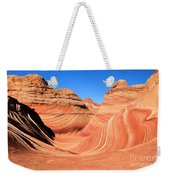 Winter At The Wave Weekender Tote Bag