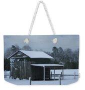 Winter Barn Weekender Tote Bag by Nelson Watkins