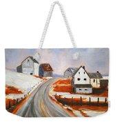 Winter Barns Weekender Tote Bag