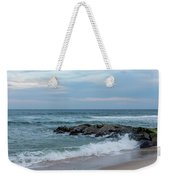 Winter Beach Day Lavallette New Jersey Weekender Tote Bag
