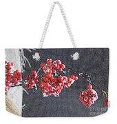 Winter Berries II Weekender Tote Bag