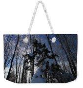 Winter Blue Weekender Tote Bag by Karol Livote