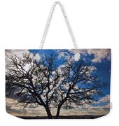 Winter Blue Skys Weekender Tote Bag