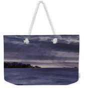 Winter Blues Weekender Tote Bag by Thomas Young