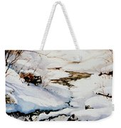 Winter Break Weekender Tote Bag by Hanne Lore Koehler