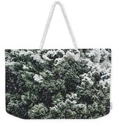 Winter Bush Weekender Tote Bag