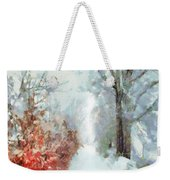 Winter Weekender Tote Bag
