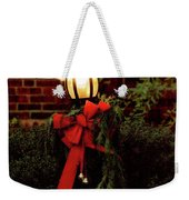 Winter - Christmas - It's Going To Be A Cold Night Weekender Tote Bag
