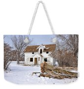 Winter Cleanup Weekender Tote Bag