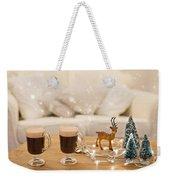Winter Coffee Weekender Tote Bag