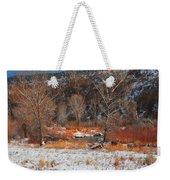 Winter Colors Weekender Tote Bag