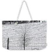 Winter Comes Weekender Tote Bag