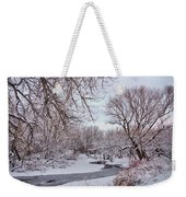 Winter Creek Weekender Tote Bag