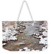 Winter Creek Scenic View Weekender Tote Bag