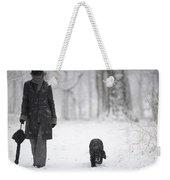 Winter Day Weekender Tote Bag