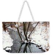 Winter Ditch Weekender Tote Bag